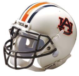 Schutt NCAA Mini Authentic XP Football Helmet, Auburn Tigers