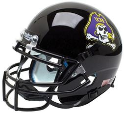 NCAA East Carolina Pirates Jolly Roger Black Mini Helmet, On