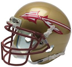 NCAA Florida State Seminoles Matte Gold Mini Helmet, One Siz