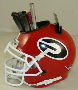 ncaa georgia bulldogs helmet desk