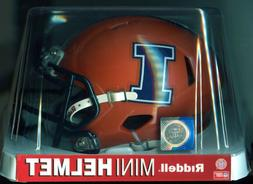 NCAA Illinois Fighting Illini Speed Mini Helmet