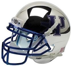 NCAA Kentucky Wildcats Silver Chrome Mini Helmet, One Size,