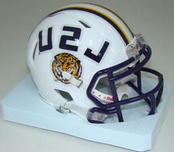NCAA Louisiana State  Fighting Tigers White Speed Mini Helme