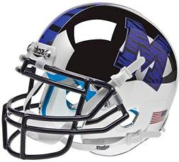 NCAA Memphis Tigers Chrome Mini Helmet, One Size, White