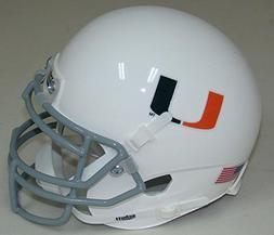 NCAA Miami Hurricanes Mini Helmet, One Size, White