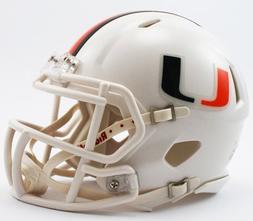 Riddell NCAA Miami Hurricanes Speed Mini Helmet