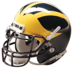 Schutt NCAA Michigan Wolverines Mini Authentic XP Football H