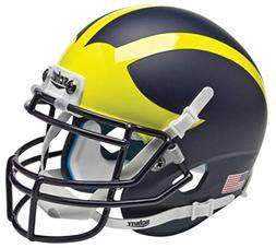Schutt NCAA Michigan Wolverines Mini Authentic XP Football H