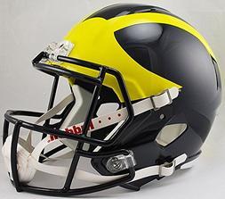 Riddell NCAA Michigan Wolverines Replica Speed Full Size Foo