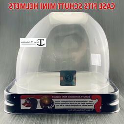 Schutt NCAA Mini Helmet Retail Display Empty Container Box C