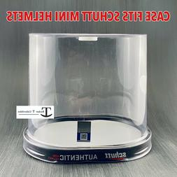 ncaa mini helmet retail display empty container