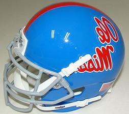 NCAA Mississippi Old Miss Rebels Blue Mini Helmet, One Size,