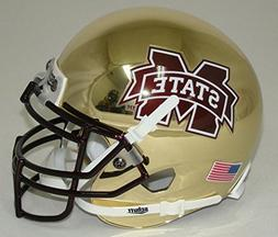 NCAA Mississippi State Bulldogs Chrome Mini Helmet, One Size