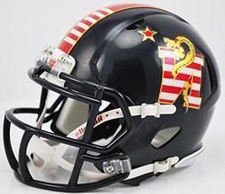 Riddell NCAA Navy Don't Tread On Me Mini Replica Helmet, Sma