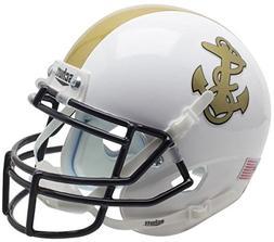 NCAA Navy Midshipmen Mini Helmet, One Size, White