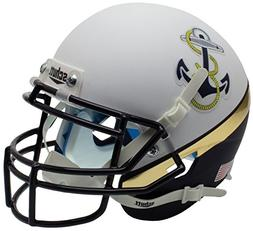 Schutt NCAA Navy Midshipmen Mini Authentic XP Football Helme
