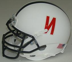 NCAA Nebraska Cornhuskers Mini Helmet, One Size, White