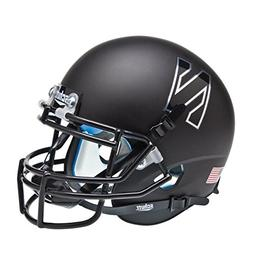 NCAA Northwestern Wildcats Chrome N Mini Helmet, One Size