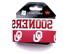NCAA Oklahama Sooners Sports Collegiate Team Logo Rubber Wri