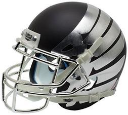 NCAA Oregon Ducks Wing Matte Black Mini Helmet, One Size, Wh