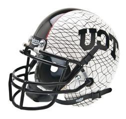 Schutt NCAA TCU Horned Frogs Collectible Alt 3 Mini Helmet,