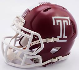 NCAA Temple Owls Speed Mini Helmet