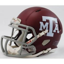 NCAA Texas A and M Aggies Speed Mini Helmet A&M