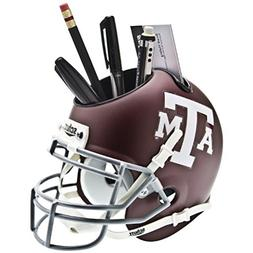 Schutt NCAA Texas A&M Aggies Football Helmet Desk Caddy, Cla