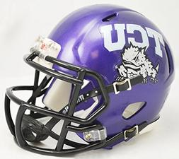 Riddell NCAA Texas Christian  Horned Frogs Speed Mini Helmet