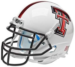NCAA Texas Tech Red Raiders Mini Helmet, One Size, White