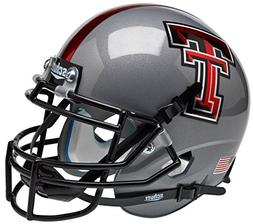 NCAA Texas Tech Red Raiders 2013 Gray Mini Helmet, One Size,