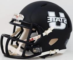 Riddell NCAA Utah State Aggies Alternate Navy Speed Mini Hel