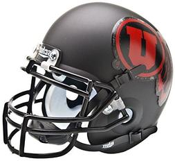 Schutt NCAA Utah Utes Collectible Alt 1 Mini Helmet, Matte B
