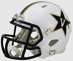 Riddell NCAA Vanderbilt Commodores White Speed Mini Helmet