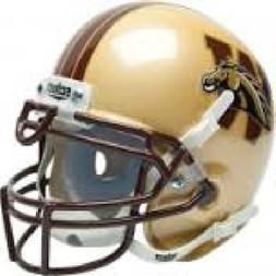 Schutt NCAA Western Michigan Broncos Mini Authentic XP Footb