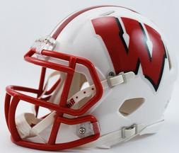 Riddell NCAA Wisconsin Badgers Speed Mini Helmet