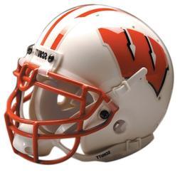 Schutt NCAA Wisconsin Collectible Mini Football Helmet