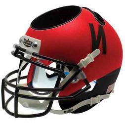 NEBRASKA CORNHUSKERS NCAA Schutt Mini Football Helmet DESK C