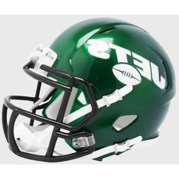 NEW 2019 Logo Riddell New York Jets Speed Mini Helmet - Goth