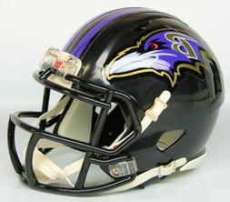 New Baltimore Ravens Logo Speed Revolution Replica Mini Helm