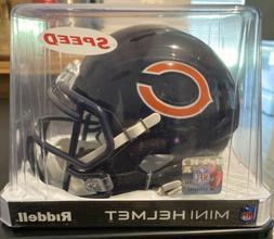 **NEW** Chicago Bears Speed NFL Football Riddell Mini Helmet