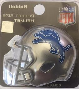 ***NEW*** DETROIT LIONS NFL Riddell SPEED POCKET PRO Mini Fo