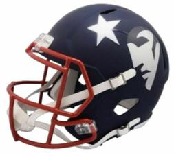 New England Patriots Riddell AMP Alternate Mini Speed Helmet