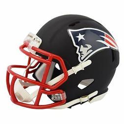 Riddell New England Patriots Black Matte Alternate Speed Min