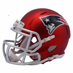 New England Patriots Blaze Mini Helmet New In Box 14583