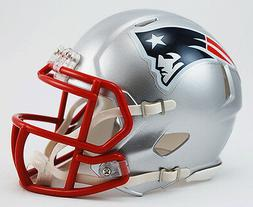 NEW ENGLAND PATRIOTS RIDDELL SPEED FOOTBALL MINI HELMET 3001