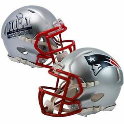 New England Patriots Super Bowl 53 LIII Champions Speed Mini