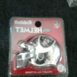 *NEW* Riddell NFL Oakland Raiders Mini Helmet Pocket Chrome