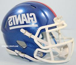 NEW YORK GIANTS  Riddell Speed Mini Helmet