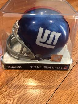 NEW YORK GIANTS NFL Riddell Mini Football Helmet - FREE SHIP